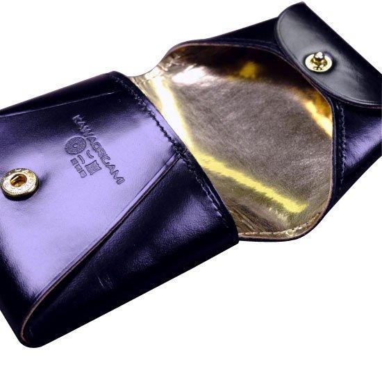 KAWAORIGAMI ブラック&ゴールドモデル コインケース【画像7】
