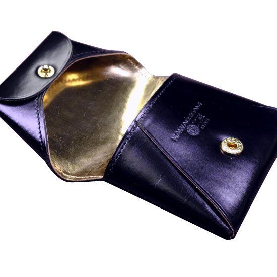KAWAORIGAMI ブラック&ゴールドモデル コインケース【画像8】
