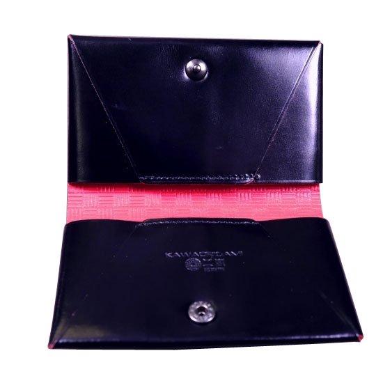 KAWAORIGAMI ブラック&レッドモデル 名刺&カードケース【画像3】