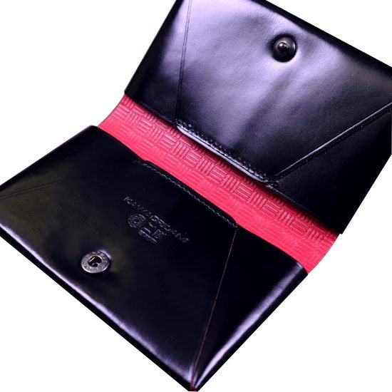 KAWAORIGAMI ブラック&レッドモデル 名刺&カードケース【画像4】