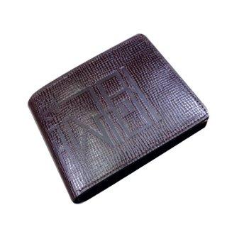 二つ折り財布 漢字モノグラムウォレット