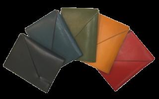形状から探す KAWA-ORIGAMI カードケース 摺摺(オリオリ)