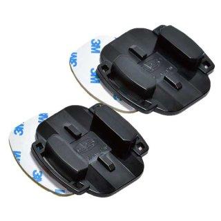 GoPro(ゴープロ)用アクセサリー フラットベースマウント2枚  平面 ベースマウント 3M両面テープ付き GLD4165GP12