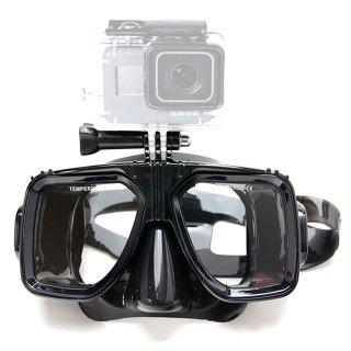 GoPro(ゴープロ)用アクセサリー マウント付ダイビングマスク  GLD6145GO129B