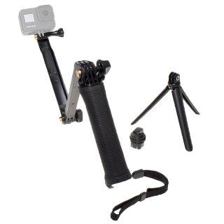 GoPro(ゴープロ)用アクセサリー 3WAY 1脚・三脚・延長3タイプアーム  GLD7661MJ01