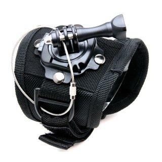GoPro(ゴープロ)用アクセサリー 回転ハウジングマウント付グローブ マウント Lサイズ 手 手の甲 GLD7753GP127LX