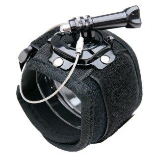 GoPro(ゴープロ)用アクセサリー 回転ハウジングマウント付アームマウントx手 腕 手首 装着 GLD7777GP128X