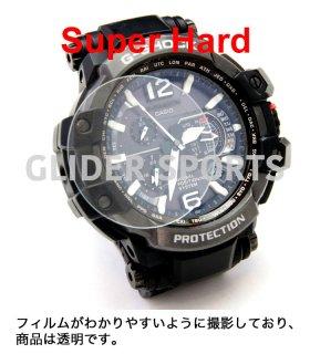 時計用 保護フィルム 37mm 高硬度 ガラスフィルム 超ハード スーパーハード 腕時計 フィルム 傷防止 保護シート GLD8354M37