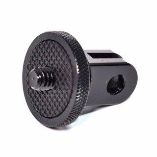 GoPro(ゴープロ)用アクセサリー 三脚用 1/4インチネジ付き アダプター アルミ製 GLD9993GP60Bx