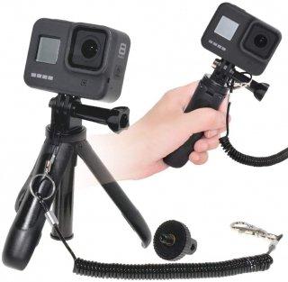 GoPro(ゴープロ)用アクセサリー ショーティー 三脚 ストラップ付 ミニ三脚 自撮り棒 セルフィー GLD3136MJ53