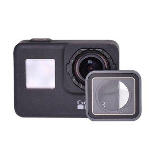 (HERO7Black/HERO6/HERO5対応) UVカット レンズカバー 交換用互換保護レンズ プロテクター UVレンズリング GLD9856GO232