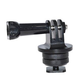GoPro(ゴープロ)用アクセサリー シューアダプター 長ネジ付き フラッシュマウント カメラアクセサリー GLD3341MJ59