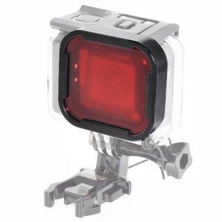 HERO7Black/HERO6/HERO5対応 水中用フィルター 赤 (GoPro純正ダイブハウジング対応) ダイビングフィルター 海中 GLD3556MJ79