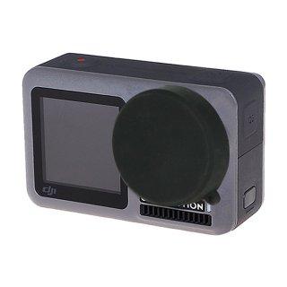 DJI Osmo Action用 レンズカバー (オスモアクション/オズモアクション対応) シリコン レンズキャップ レンズ保護 GLD3792MJ95B