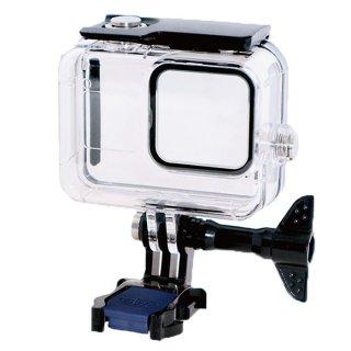 GoPro(ゴープロ)用 HERO8Black対応 アクセサリー 防水ハウジング 防水ケース 海 水中 ダイビング GLD3853MJ93