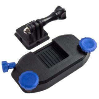 GoPro(ゴープロ)用アクセサリー クイック着脱リュッククリップ 青  バックパック リュック 肩ベルト GLD3846GO206B