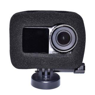 DJI Osmo Action用 防風 スポンジカバー (オスモアクション/オズモアクション対応) スポンジケース 騒音防止 ノイズ対策 風防 風きり音防止 防塵 GLD3877MJ03