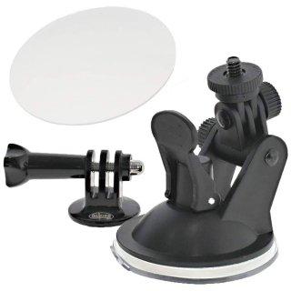 GoPro(ゴープロ)用アクセサリー ショートアーム付 吸盤マウント & ゲルタックシート  GLD3990GP51J
