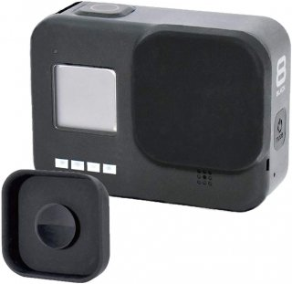 GoPro(ゴープロ)用 HERO8Black対応 アクセサリー シリコン レンズカバー 吸盤式 レンズキャップ レンズ保護  GLD4058MJ210