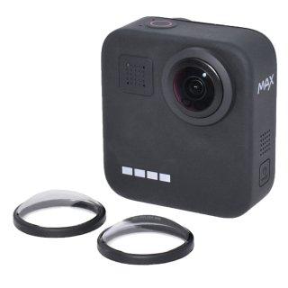 GoPro(ゴープロ)用 MAX (マックス) 対応 アクセサリー レンズカバー レンズ保護 レンズキャップ アクリル レンズ 傷防止 GLD4065MJ17
