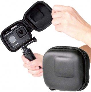 GoPro(ゴープロ)用 アクセサリー 保護ケース (HERO8 HERO7 HERO6 HERO5対応) ケース 衝撃吸収 ミニケース GLD4072MJ18