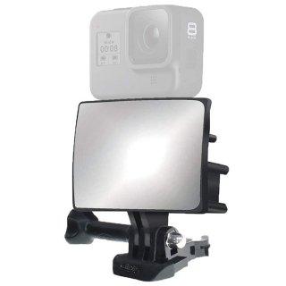 GoPro(ゴープロ)用アクセサリー アクションカメラ用 Vlog ミラー  自撮り棒 セルフィー 鏡 GLD4775MJ103