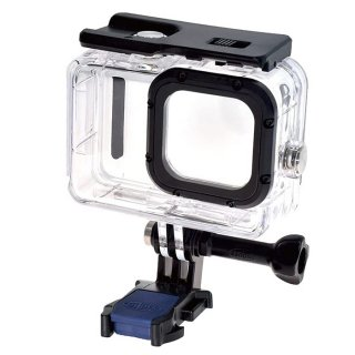 GoPro(ゴープロ)用 HERO10Black/HERO9Black対応 アクセサリー 防水ハウジング 40m防水 防水ケース 保護ケース GLD4928MJ105