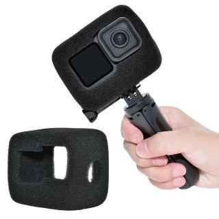GoPro(ゴープロ)用 HERO9Black対応 アクセサリー 防風スポンジカバー 騒音防止 録音ノイズ対策 防塵 保護 防風カバー GLD5062MJ118