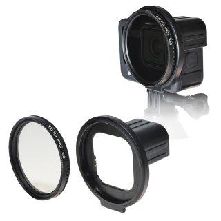 HERO9Black対応 CPLフィルター セット 52mm レンズアダプター PLフィルター 偏光フィルター GLD5246MJ132