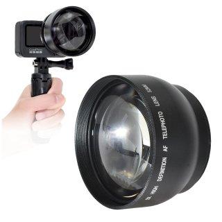 HERO9/8/7/6Black対応 望遠レンズ ズームレンズ 2倍ズームレンズ単品 GoPro用アクセサリー GLD5307MJ138
