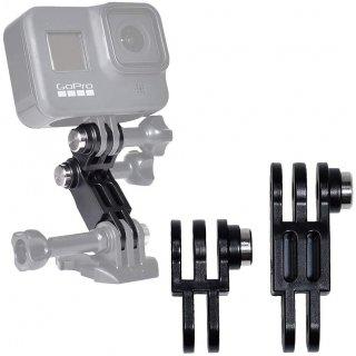 GoPro(ゴープロ)用アクセサリー ストレートアームジョイント 日本製 ジョイント パーツ 角度調整 延長アダプター GLD5598MJ167