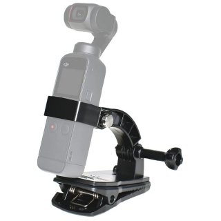 DJI Pocket2/Osmo pocket 用 アクセサリー バッグパックセット クリップマウント 360度回転   リュック ベルト GLD6120MJ212