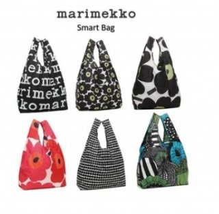 <img class='new_mark_img1' src='https://img.shop-pro.jp/img/new/icons5.gif' style='border:none;display:inline;margin:0px;padding:0px;width:auto;' />marimekko マリメッコ エコバック Smart Bag 【6色】  【予約販売含む】