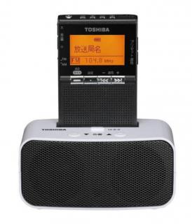 【予約販売】東芝 TOSHIBATY-SPR8 [FM/AM充電ラジオ ワイドFM対応 ガンメタリック]