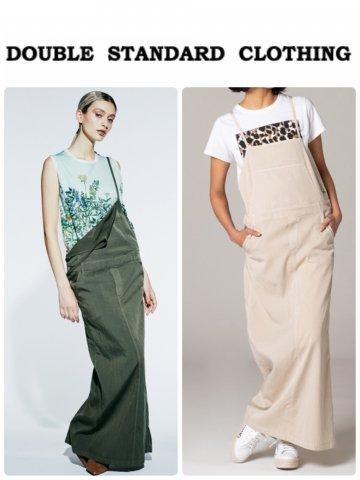 【DOUBLE STANDAR CLOTHING】二浴染めジャンパースカート【全2色】