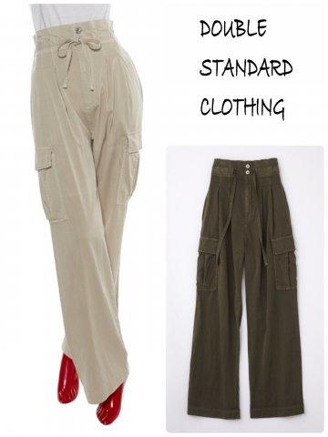 【DOUBLE STANDARD CLOTHING】二浴染めカーゴパンツ(WOMEN)【全2色】