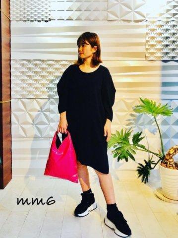 【MM6】プリーツスリーブドレス