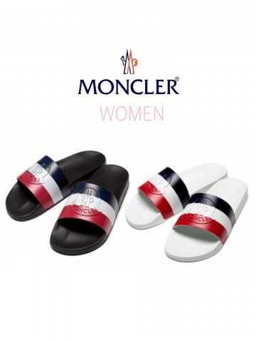 【MONCLER】 Basile(バジーレ)スライドサンダル トリコロール(WOMEN)【全2色】