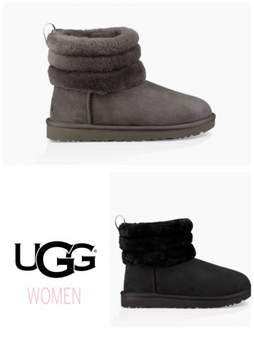 【UGG】FLUFF MINI QUILTED(WOMEN)【全2色】
