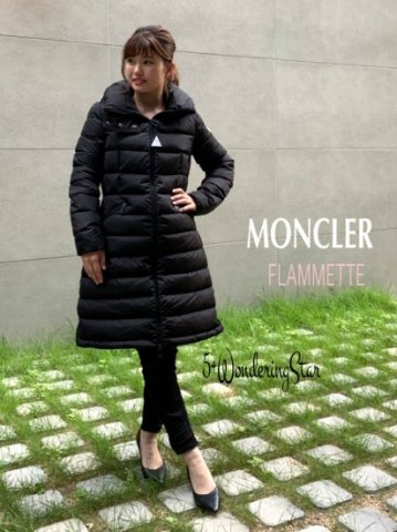 <img class='new_mark_img1' src='https://img.shop-pro.jp/img/new/icons13.gif' style='border:none;display:inline;margin:0px;padding:0px;width:auto;' />【MONCLER】FLAMMETTE フラメッテ(WOMEN) 【BLACK】