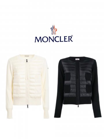 <img class='new_mark_img1' src='https://img.shop-pro.jp/img/new/icons13.gif' style='border:none;display:inline;margin:0px;padding:0px;width:auto;' />【MONCLER】CARDIGAN(WOMEN)【全2色】
