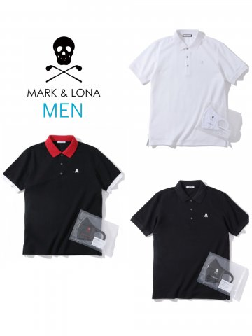 <img class='new_mark_img1' src='https://img.shop-pro.jp/img/new/icons13.gif' style='border:none;display:inline;margin:0px;padding:0px;width:auto;' />【MARK&LONA】Ace Asset Polo(MEN)【全3色】