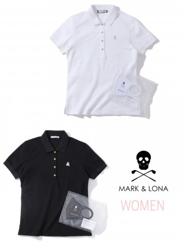<img class='new_mark_img1' src='https://img.shop-pro.jp/img/new/icons13.gif' style='border:none;display:inline;margin:0px;padding:0px;width:auto;' />【MARK&LONA】Ace Asset Polo(WOMEN)【全2色】