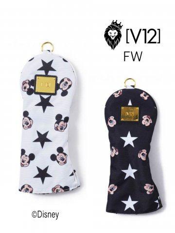<img class='new_mark_img1' src='https://img.shop-pro.jp/img/new/icons13.gif' style='border:none;display:inline;margin:0px;padding:0px;width:auto;' />【V12】MICKEY/HEAD COVER(FAIRWAY)【全2色】