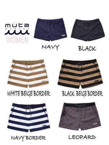 【muta MARINE)WAVEスイムショートパンツ(WOMEN)【全6色】