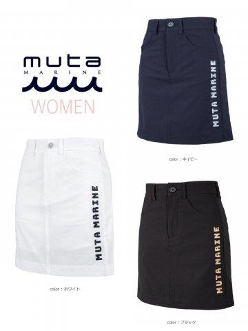 【muta MARINE】MOVEFIT®スカート(WOMEN)【全3色】