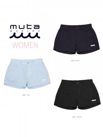 【muta MARINE】DotAir®ホットパンツ(WOMEN)【全3色】