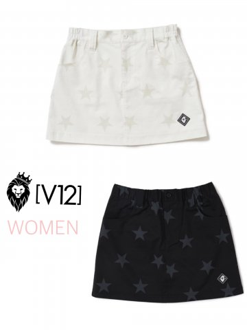 <img class='new_mark_img1' src='https://img.shop-pro.jp/img/new/icons13.gif' style='border:none;display:inline;margin:0px;padding:0px;width:auto;' />【V12】ALL STAR SKIRT(WOMEN)【全2色】