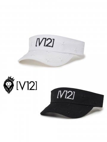 <img class='new_mark_img1' src='https://img.shop-pro.jp/img/new/icons13.gif' style='border:none;display:inline;margin:0px;padding:0px;width:auto;' />【V12】STAR EMBROIDERY VISOR(MEN&WOMEN)【全2色】