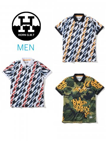 <img class='new_mark_img1' src='https://img.shop-pro.jp/img/new/icons13.gif' style='border:none;display:inline;margin:0px;padding:0px;width:auto;' />【HORN GARMENT】Flock Octet Polo(MEN)【全3色】